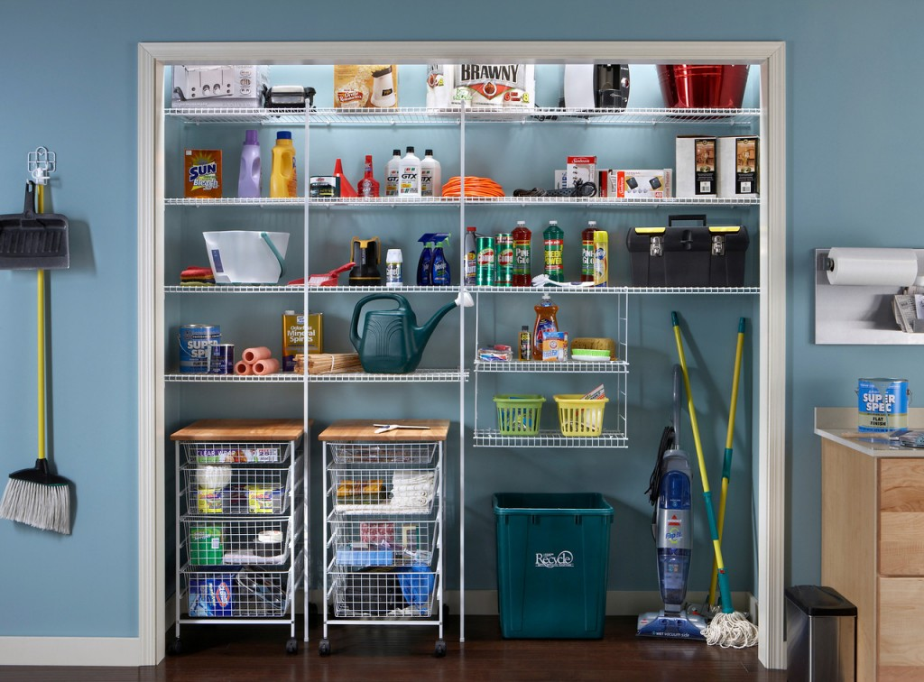 Due To The Ventilated Wire Design ClosetMaid Makes For Perfect Storage Solution In Your Utility Or Airing Cupboard Enclosure