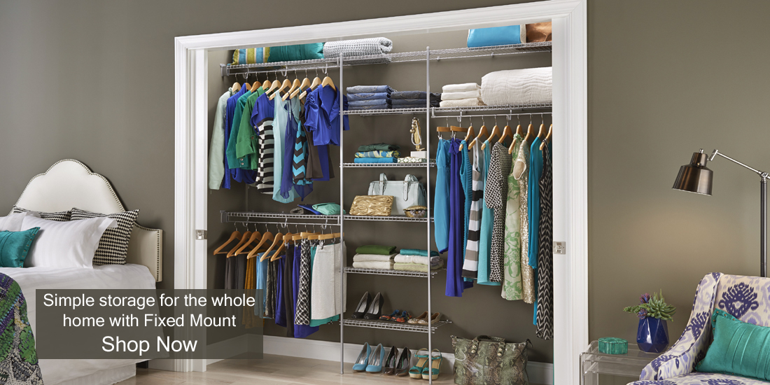 ClosetMaid UK: Versatile U0026 Affordable Wardrobe U0026 Storage Systems