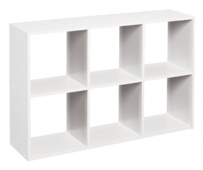 1578 - Mini Cubeicals 6 Cube Organiser White