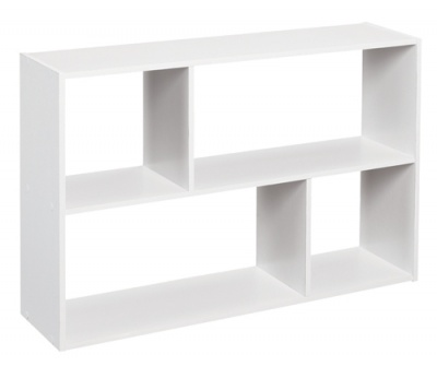 1580 - Mini Offset Cubeicals Organiser White