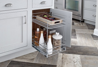 2 Tier Pull Out Basket - 32104
