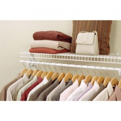 SuperSlide Pre Pack Shelf with Hang Bar - Available in 2', 3', 4' & 6' Lengths