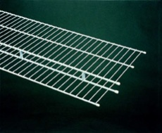 73046 - 1.83m / 6' length of Shelf & Rod 40.6cm / 16'' deep shelving