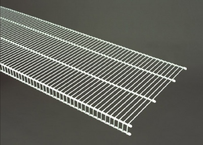 7318 - CloseMesh 16'' / 40.6cm Deep Shelving - Available in 4', 6', 8' & 10' lengths