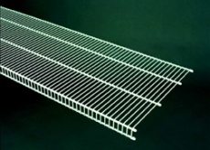 73188 - 2.44m / 8' length of CloseMesh 40.6cm / 16'' deep shelving