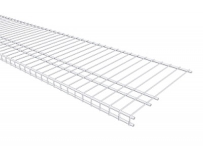 7320 - Linen 16'' / 40.6cm Deep Low Profile Shelving - Available in 4', 6', 8' & 10' lengths