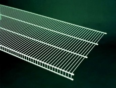 740312 - 3.66m / 12' length of CloseMesh 50.8cm / 20'' deep shelving