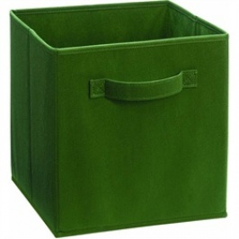 787 - Dark Green Fabric Drawer