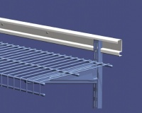 ShelfTrack Horizontal Hang Track - Available in 24'', 40'' & 80'' lengths