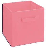 468 - Pastel Pink Fabric Drawer