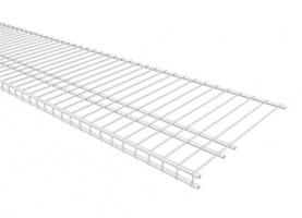 7320 - 'All Purpose' Linen 16'' / 40.6cm Deep Low Profile Shelving - Available in 4', 6', 8' & 10' lengths