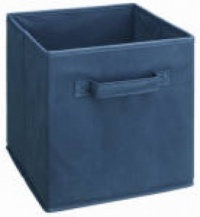 433 - Dark Blue Fabric Drawer