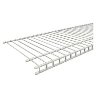 7315 - 'All Purpose' Linen 12'' / 30.5cm Deep Low Profile Shelving - Available in 4', 6', 8' & 10' lengths
