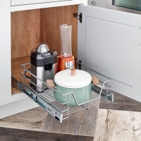 Wide Single Tier Pull Out Basket - 32100