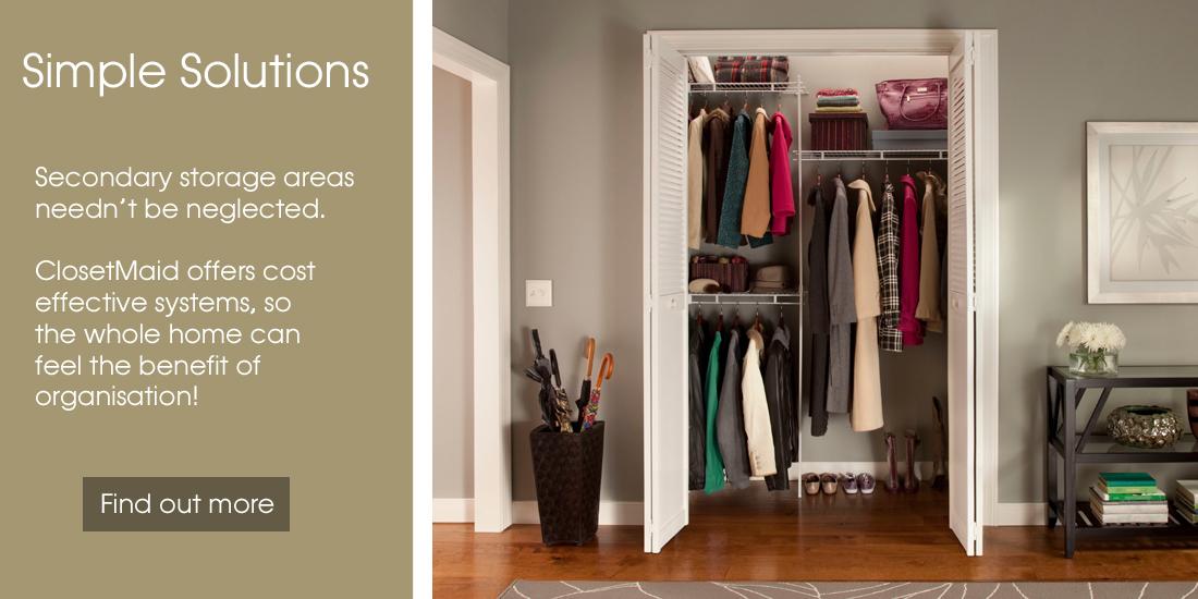 Awesome ClosetMaid UK: Versatile U0026 Affordable Wardrobe U0026 Storage Systems