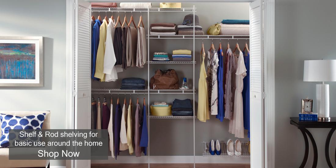 Closetmaid Uk Versatile Affordable Wardrobe Storage Systems