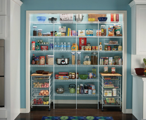 Create your own Fixed Mount Pantry