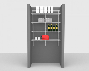 Kitchen & Pantry Packages - Up To 4' / 122cm Wide