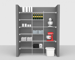 Kitchen & Pantry Packages - Up To 6' / 1,83m Wide