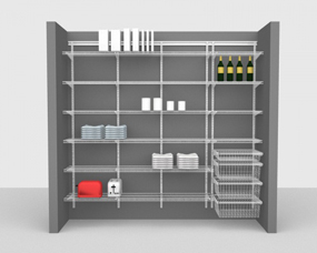 Kitchen & Pantry Packages - Up To 8' / 2,44m Wide