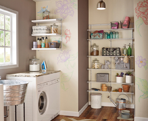 Create your own ShelfTrack Linen / Airing / Utility room