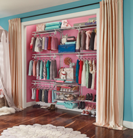 ShelfTrack SuperSlide Closets