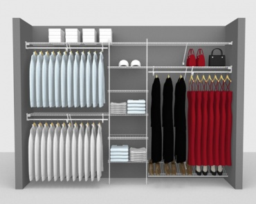 Reach In Wardrobe - Up To 9'/ 2.74m Wide