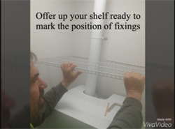 How To Install Regular Fix ClosetMaid Shelving