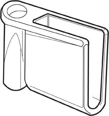 415 - Angle Shelf Mount Bracket