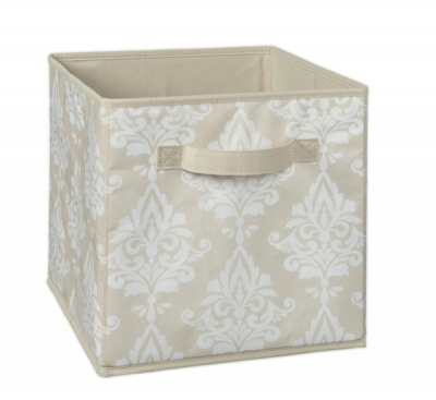 1841 - Natural Damask Print Fabric Drawer
