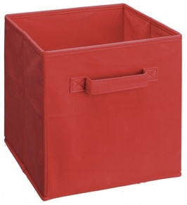 432 - Red Fabric Drawer
