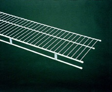 73164 - 1.22m / 4' length of Shelf & Rod 25.4cm / 10'' deep shelving