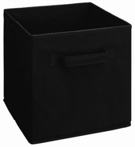 784 - Black Fabric Drawer
