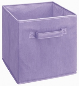 878 - Light Purple Fabric Drawer