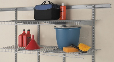 3570 - 16'' (40.6cm) deep, 4' (1.22m) wide Maximum load shelf