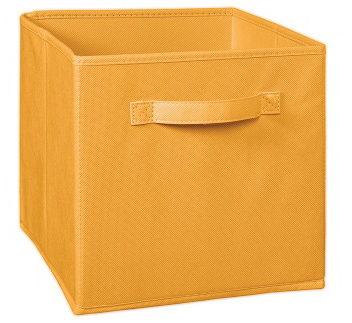 1832 - Orange Cream Fabric Drawer