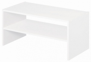 White 24'' Wide Stackable Storage Unit - T61