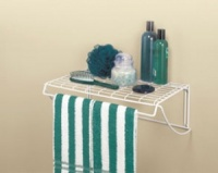 8278 - 46cm / 18'' Shelf & Rod bath shelf