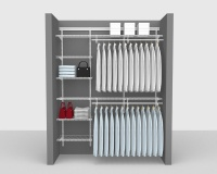 ShelfTrack Package 2 - SuperSlide shelving up to 183cm / 6' wide