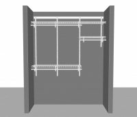 Adjustable closet package 1