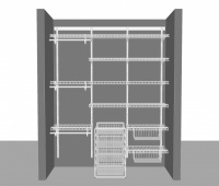 Adjustable closet package 5